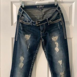 SILVER Jeans Tuesday Bootcut 29x35